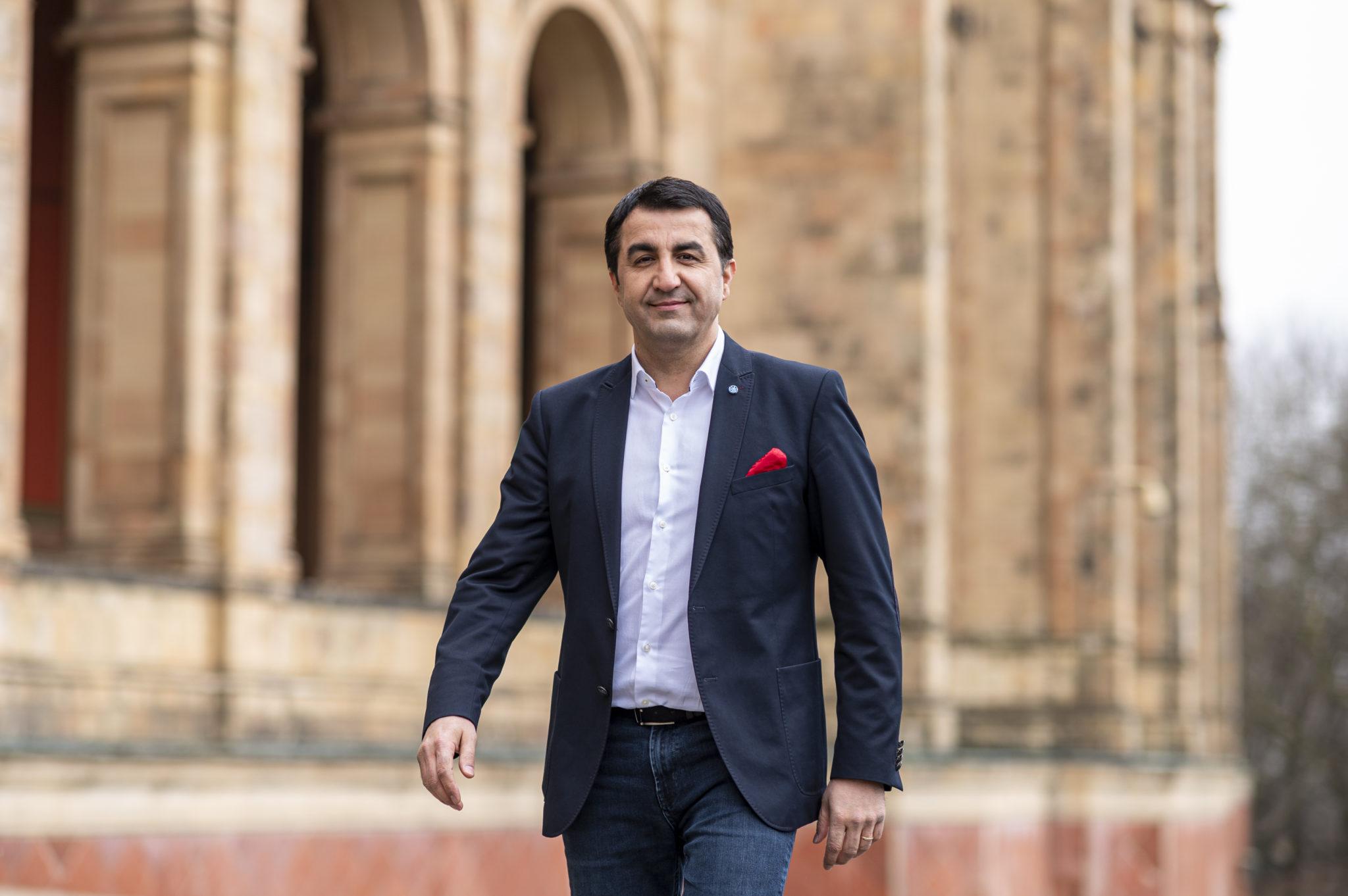 Arif läuft Landtag